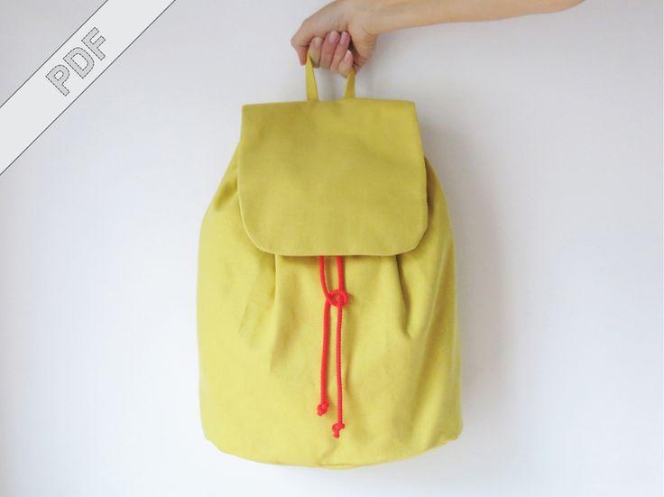 Nähanleitung+Rucksack+No.+3+mit+Schnittmuster+von+DIY+Sewing+Academy+auf+DaWanda.com
