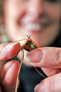 Althea Crome - miniature knitting