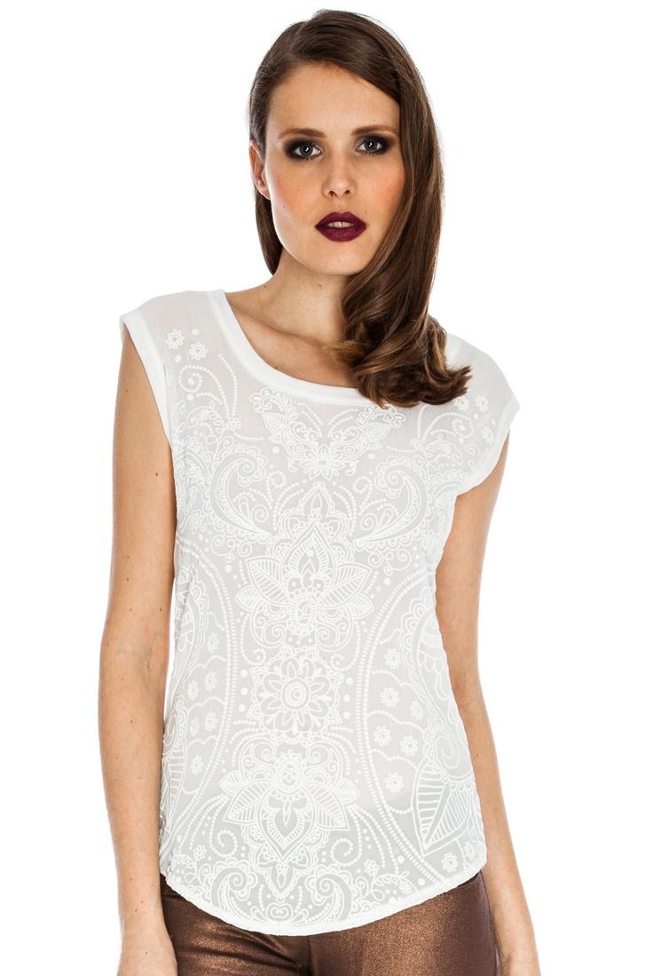 White lace like Jessica Alba
