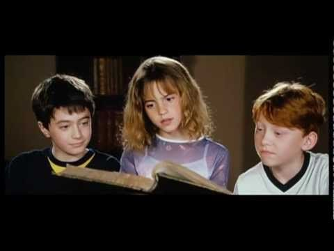 And last but not least, the adorable Emma Watson used to mouth Harry and Ron's lines. | 17 Fun Facts About The Harry Potter Movies
