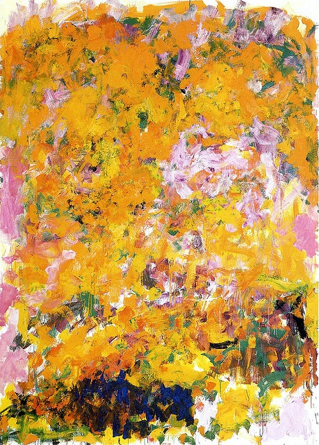 Joan Mitchell (1926-1992) Begonia, 1982, Oil on canvas, Castellani Art Museum of