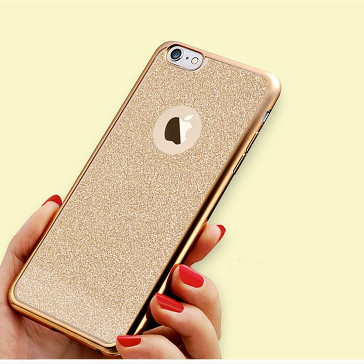 For iPhone 6 6S Plus Luxe Electroplating TPU Glitter Back Cell Phone Soft  Case for iPhone 6 5S SE 7 plus Phone cover case *** Clicking on the image will lead you to find similar product