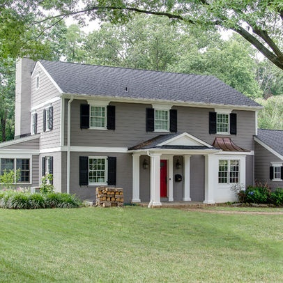 10 best images about exterior on pinterest paint colors for Painted brick houses with siding