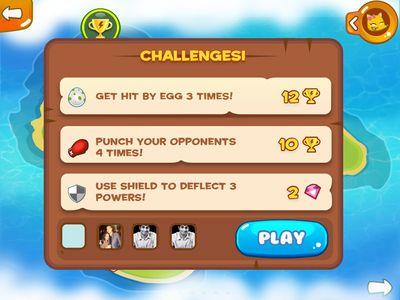 Challenges Screen Tiny Run