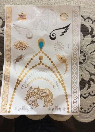 Kupuj mé předměty na #vinted http://www.vinted.cz/doplnky/ostatni/9228016-arch-zlateho-a-stribrneho-tetovani
