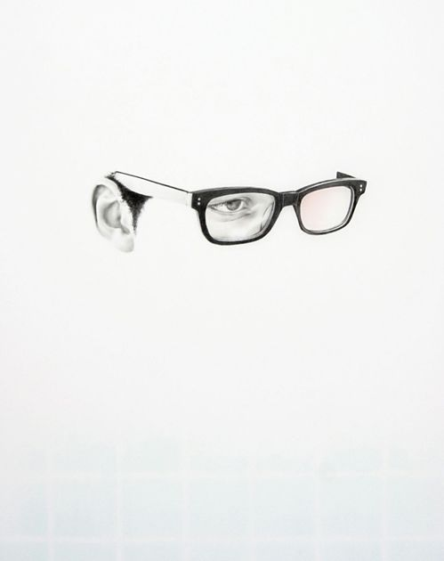 //Creepy, Emo, Graves Langdon, Negative Space, Langdon Graves Astigmatism, Art Design, Glasses Eye, Art Painting, Drawing