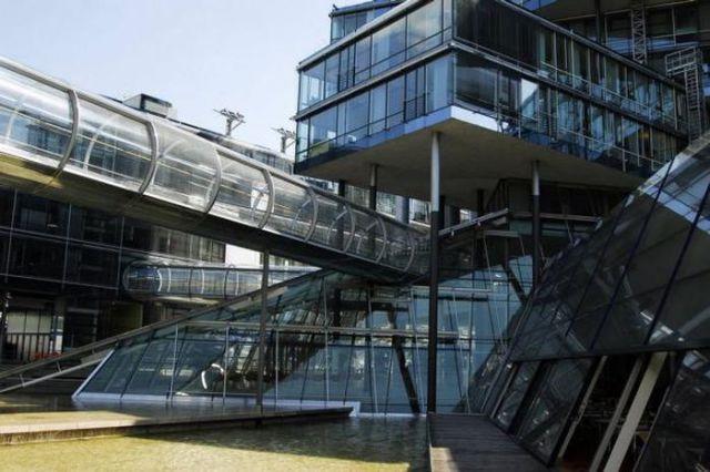 Nord Lb binası, Hannover, Almanya