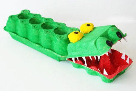 Krokodil basteln | NetMoms.de