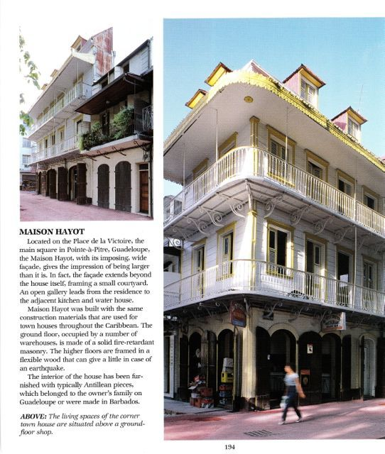 Maison Hayot Point A Pitre Guadeloupe From: Caribbean Style: A Very Nice U0026  Complete Book About Caribbean Style Houses U0026 Architecture In The Antilles  By S ...