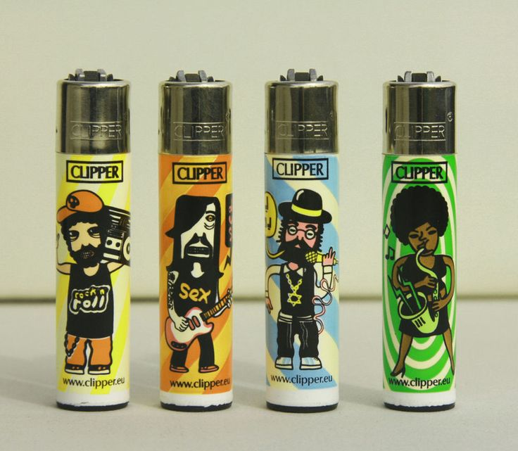 New 4 pcs refillable Clipper lighter Cigarette set Drugs (phase I)  Available on Ebay http://www.ebay.com/cln/pleasestation/CLIPPER-LIGHTERS-LIMITED-EDITION/121099981016