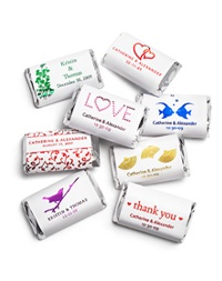 even cuter personalized chocolate, $29 for 100