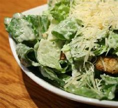 Outback Steakhouse CAESAR SALAD with homemade CROUTONS * the best Caesar salad dressing! * photo courtesy of Outback Steakhouse
