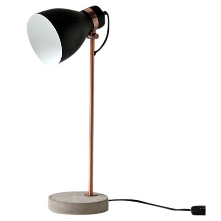 Osca Table Lamp: Black