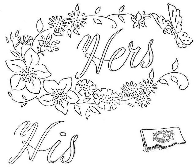 vintage embroidery patterns | vintage embroidery designs 4 - a gallery on Flickr