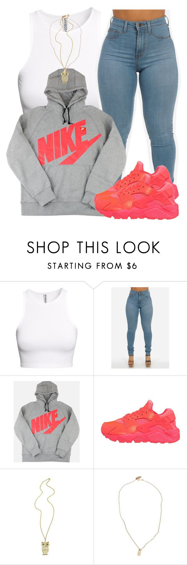 """11/23/15"" by clickk-mee ❤ liked on Polyvore featuring H&M, NIKE and Devon Pavlovits"