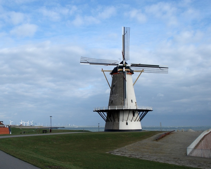Windmill in Vlissingen, the Netherlands