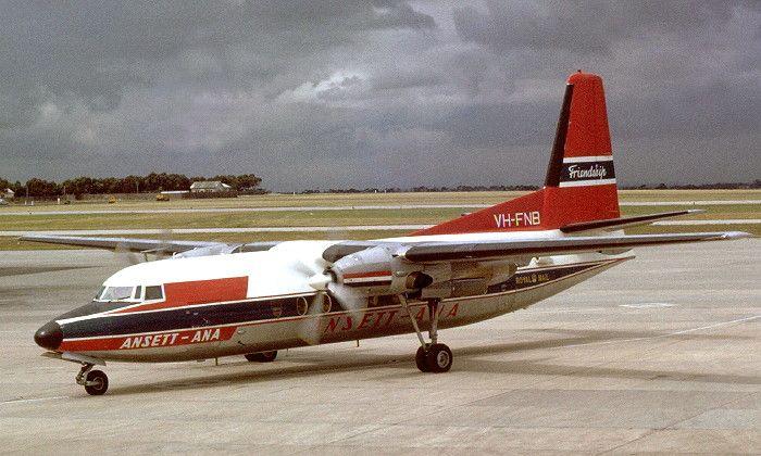 VH-FNB Fokker F.27 Friendship