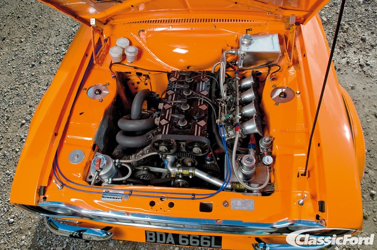 Mark Bates' Mk1 Escort, from the January 2012 issue of Classic Ford. Photo: Chris Wallbank