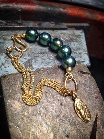 Rock and roll bracelet  Milas Jewellery #MayYourDreamsComeTrue #milas #MilasJewellery