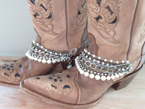 Cowboy Boot Bling. Boot Bracelet. Cowboy Boot by simplyuboutique Love!                                                                                                                                                                                 More