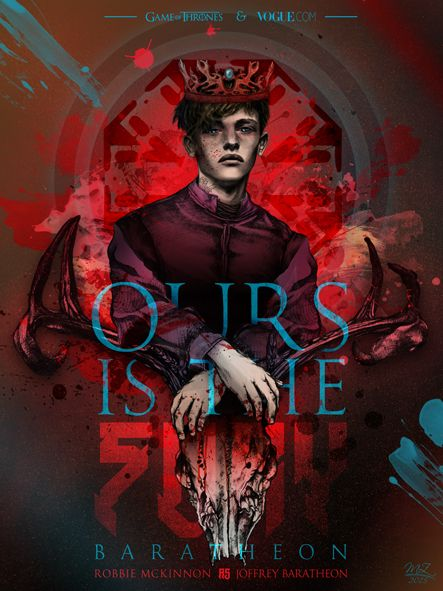 """Ours is the Fury"" - Game of Thrones & Modelling Mash Up / Robbie McKinnon as Joffrey Baratheon"