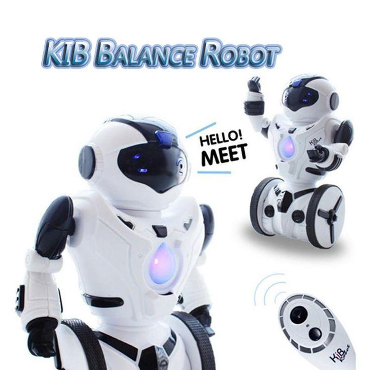 High Quality JXD KiB Children Intelligent Balance RC Robot Wheelbarrow Dancing Toy Remote Control Musical Toys Birthday Gift
