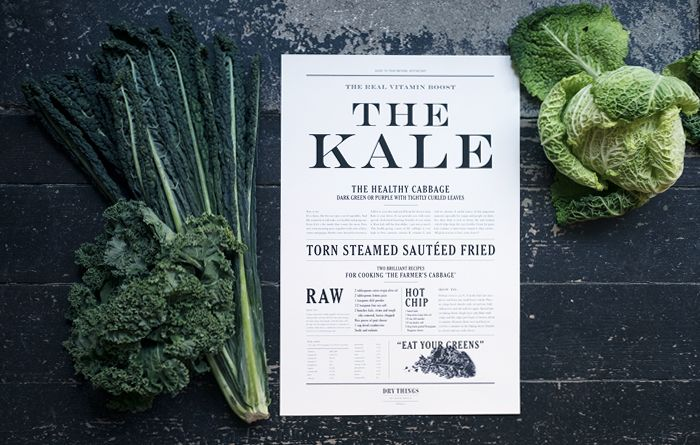 The Kale ‹ DRY THINGS