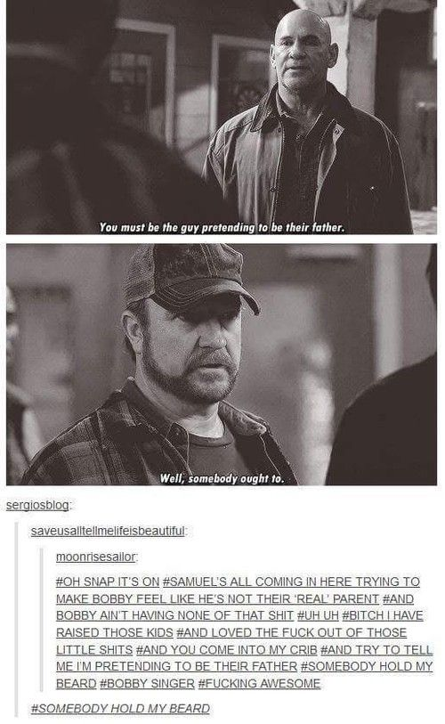 Bobby Singer  discovered by Ay Lo on We Heart It