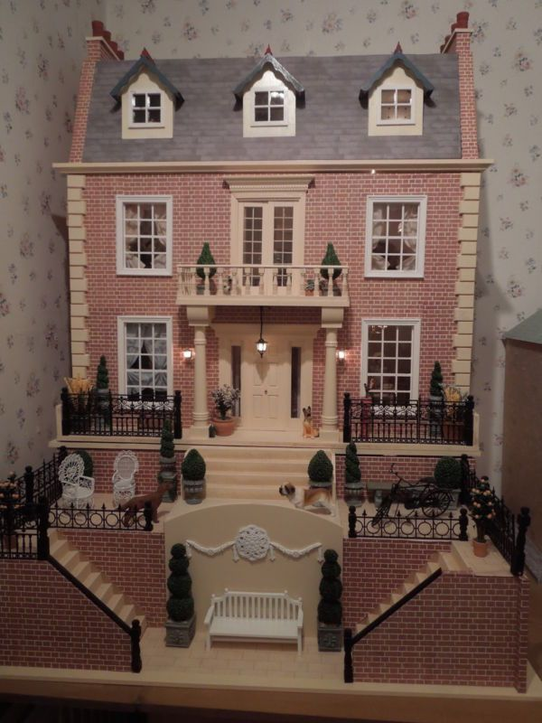 ✔ Victorian Dolls House Furnished - Dolls House Emporium   eBay