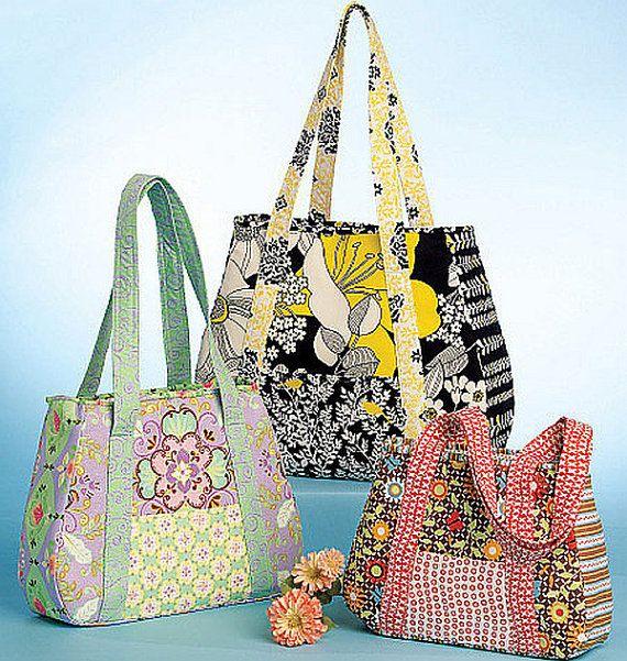 38 besten Handmade fabric bags Bilder auf Pinterest | Brieftaschen ...