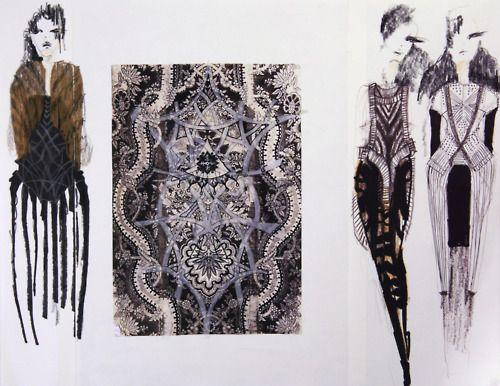 Fashion Sketchbook - stylish fashion drawings; textiles & fashion design; fashion portfolio
