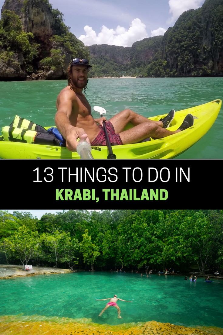 13 ADVENTUROUS THINGS TO DO IN AO NANG, KRABI -THAILAND