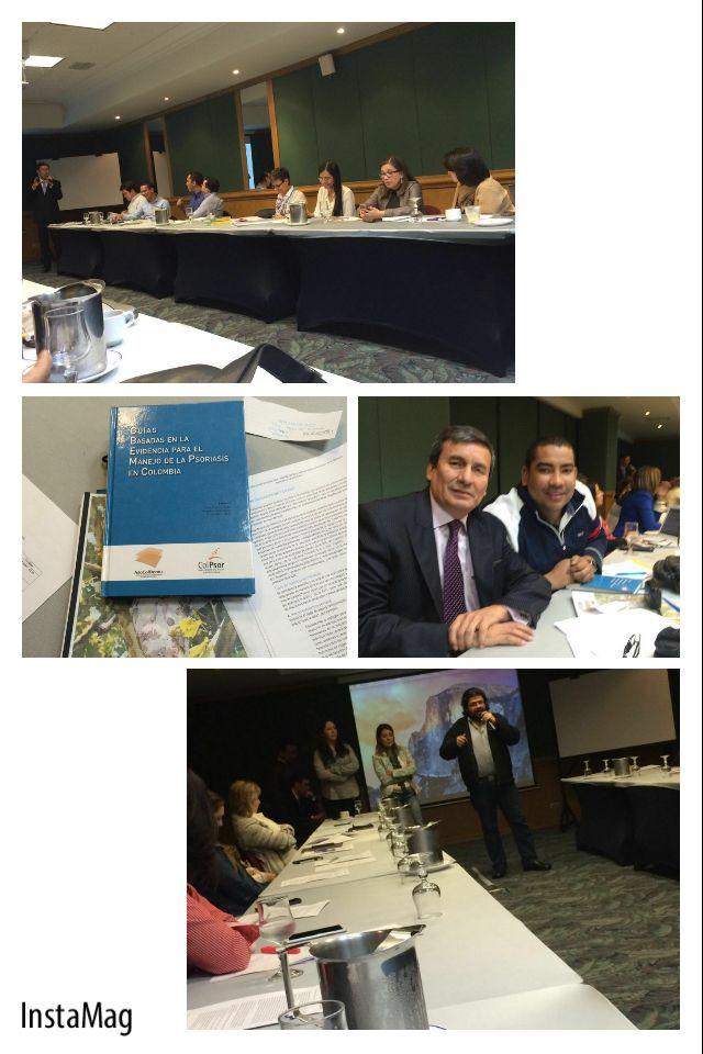 Actualización guías del manejo de la psoriasis en Colombia, organiza @asocolderma #ColPsor #fundapso #psoriasis