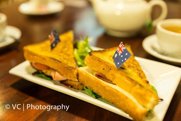 Ham, Cheese & Tomato Sandwich@Fast Eddys Morley
