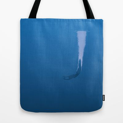 Dive Tote Bag by Nameless Shame - $22.00
