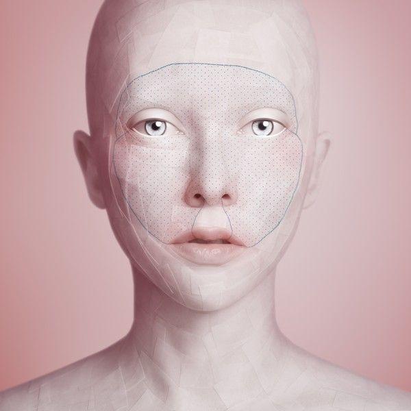 Oleg Dou, Mask 2, Another Face, 2011 120×120cm/180×180cm C-print under Diasec. Edition of 8+2AP