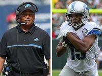 Jim Caldwell insists Lions didnt bench Golden Tate