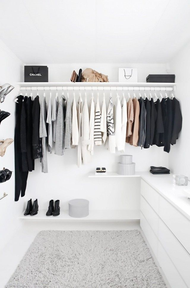 This Instagram-worthy walk-in closet might look premium, but it's astonishingly affordable to re-create. Did you spot the classic IKEA item? A Malm dresser has been styled...