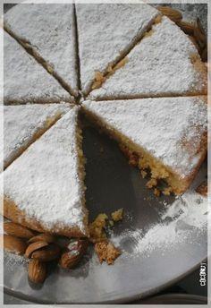 Gâteau italien fondant amandes orange citron