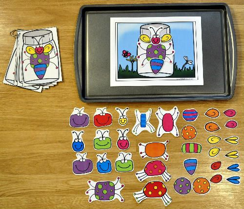 Build a Bug Cookie Sheet Activities