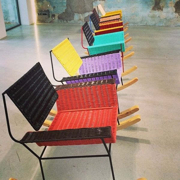 Rocking Chairs In Milan | Jasper Conran