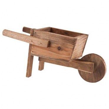 Charlie Dimmock Wooden Wheelbarrow Planter