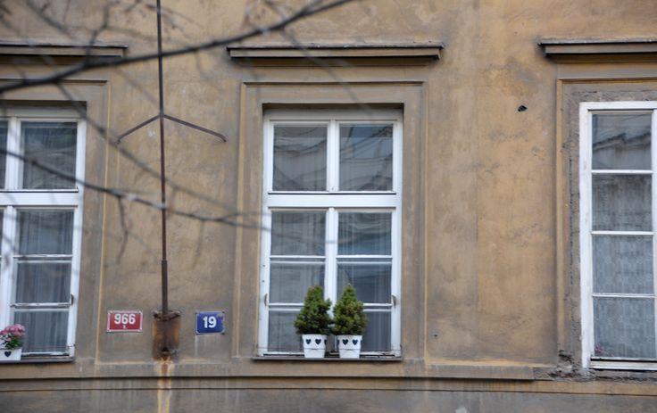 Praha, windows
