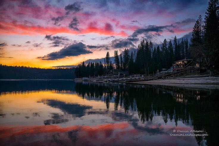 Day's Last Light - Bass Lake, California