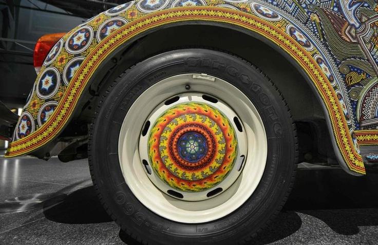 #Vocho Detalles de las ruedas