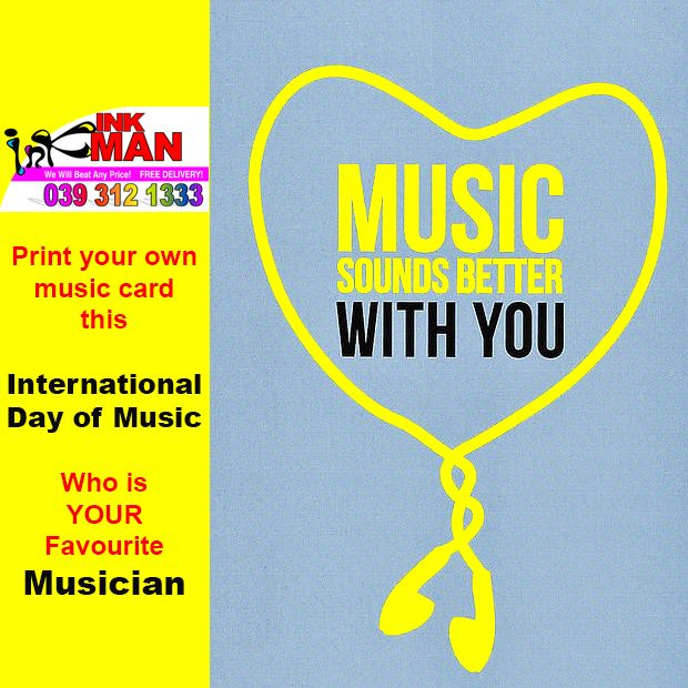 Happy International Music Day today #MusicDay Who is YOUR favourite musician? http://bit.ly/1L0q1aW