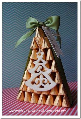 Albero di Natale di gianduiotti...idea regalo carinissima!