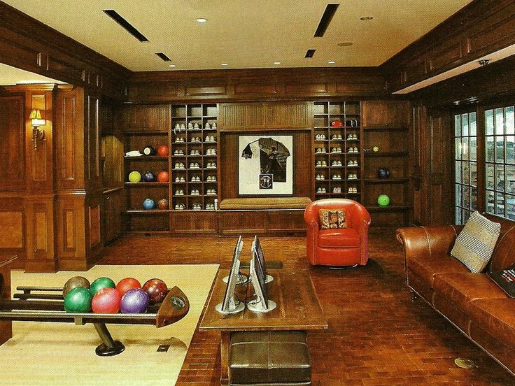 21 best bowling for the home images on pinterest bowling for House plans with bowling alley