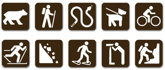 Universal signs http://www.vackersign.com//wp-content/uploads/2014/01/Recreation-Symbol-Library.pdf