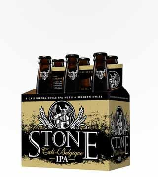 Stone Cali-Belgique - $13.99 Avant garde West-Coast style IPA. A touch of fruit, spice complexity, aggressively hoppy, yet crisp and refreshing. 6.9% ABV